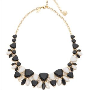 kate spade Gold Statement Black and White Necklace